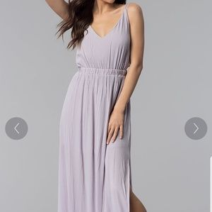 Boutique backless maxi